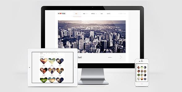 WeLove HTML Template