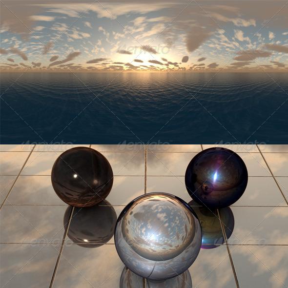 3DOcean Sea Sunset f10 407892
