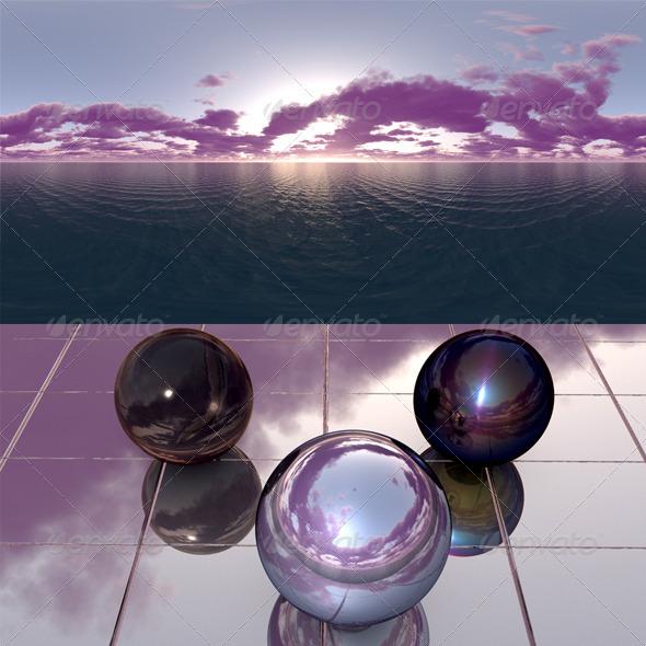 3DOcean Sea Sunset f12 407898
