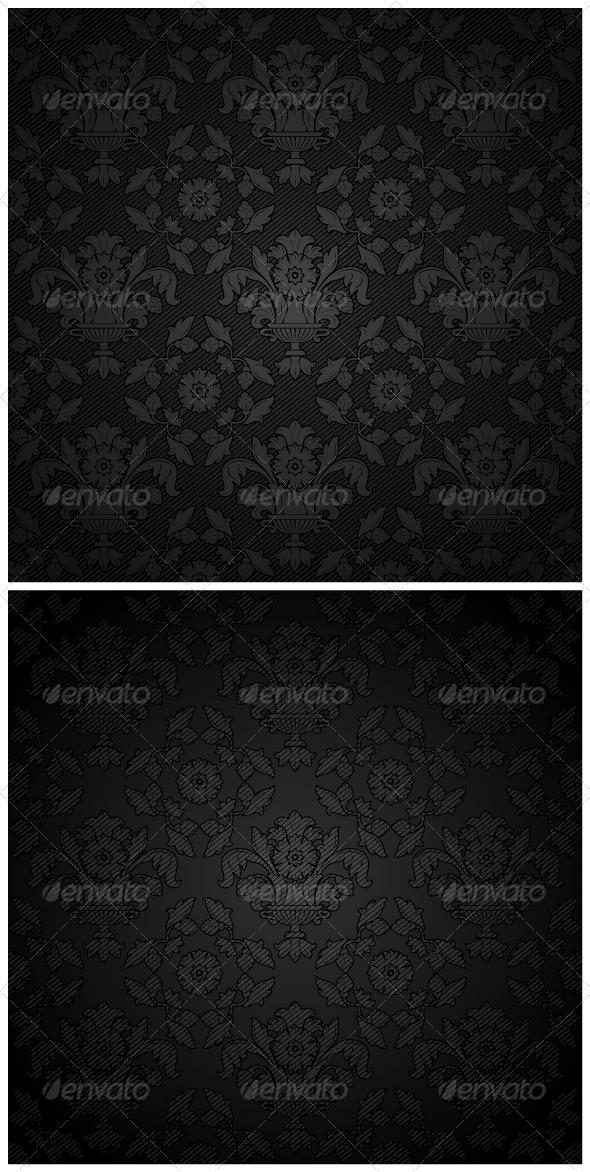 GraphicRiver Corduroy Background Black Ornament 3786887