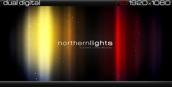 Northern Lights Elegant Logo Sting