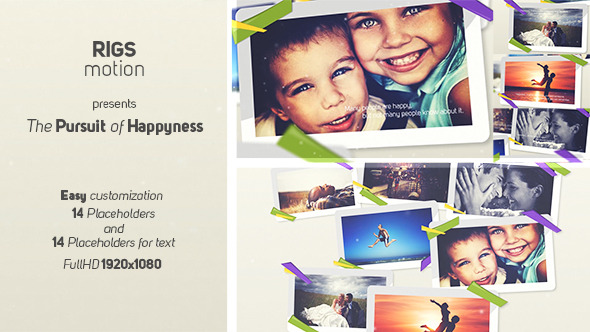 The Pursuit Of Happyness VideoHive  Video Displays  Corporate 3752465