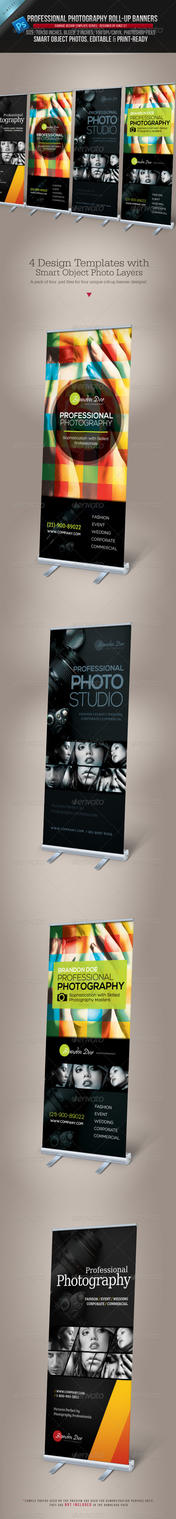 GraphicRiver Photography Roll-up Banners 3787586