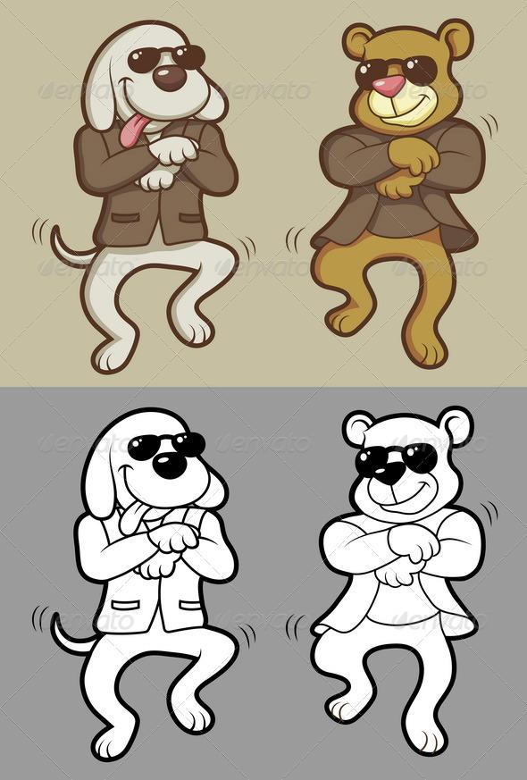Animals Dancing - Animals Characters