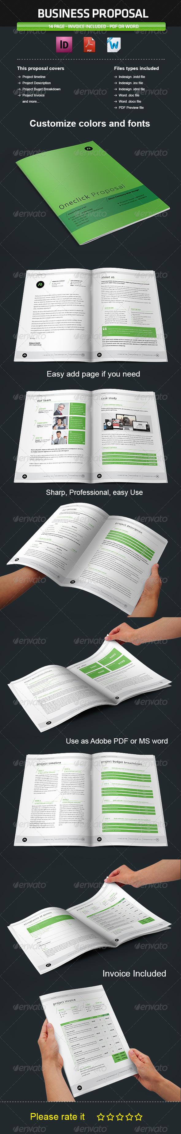 GraphicRiver Proposal Template Vol2 3788067