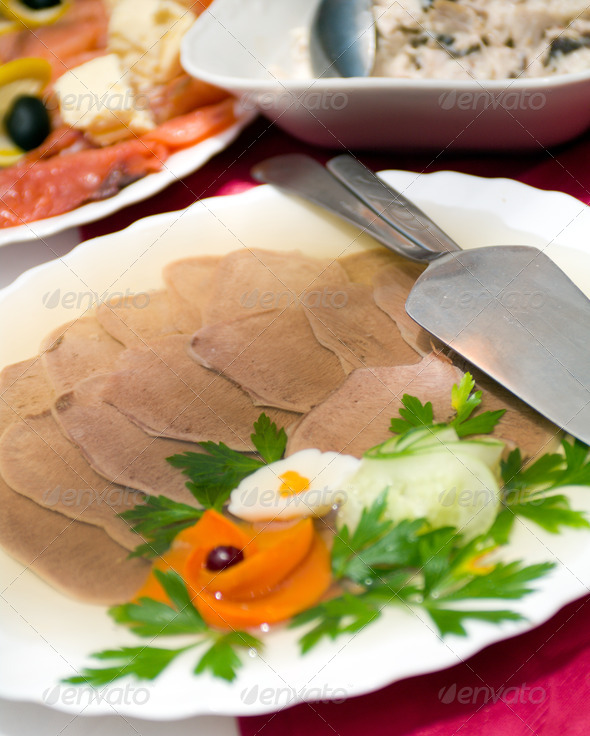 PhotoDune Aspic from meat 3788598