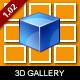 MelonHTML5 - 3D Cube Gallery