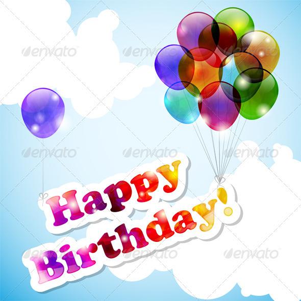 GraphicRiver Happy Birthday 3789601