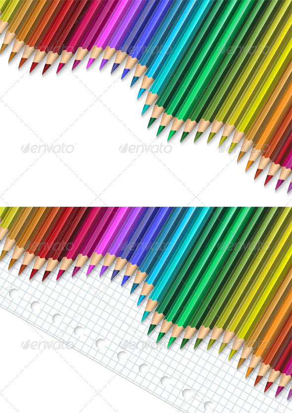 GraphicRiver Pencils 3789635