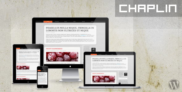Chaplin WP - Responsive WordPress Theme