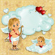 Cupid on clouds  - GraphicRiver Item for Sale