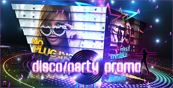 (Videohive) Disco/Party Promo