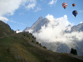 Hot-air Balloons over the Alps 2 - PhotoDune Item for Sale