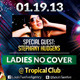 Sexy Ladies Tropìcal Night | Flyer + FB Cover - GraphicRiver Item for Sale