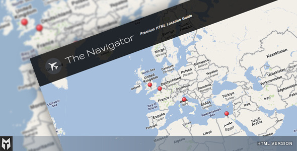 The Navigator: Premium HTML Location Guide + Blog