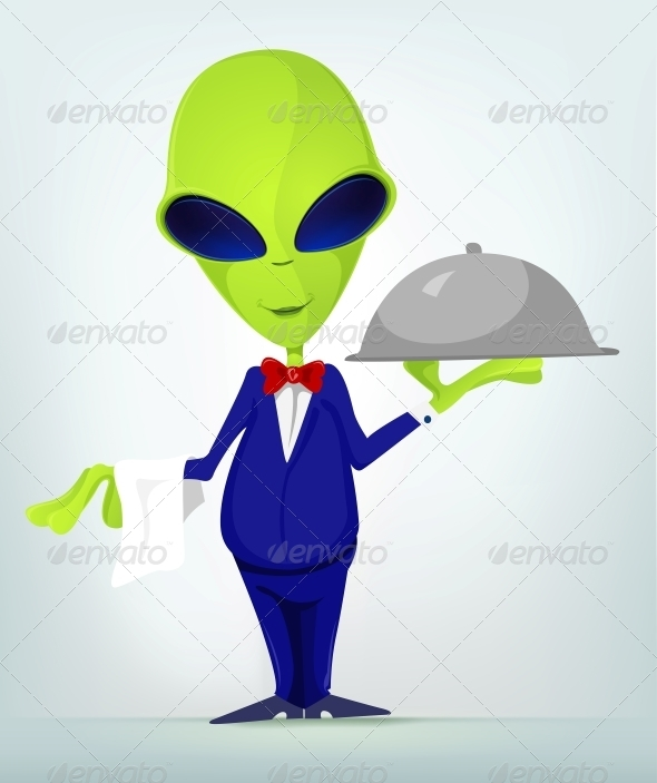 GraphicRiver Funny Alien 3791238