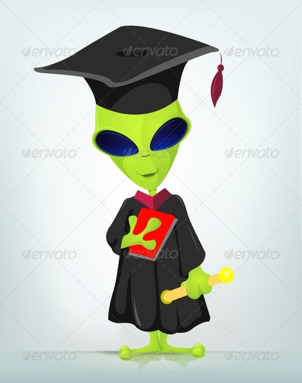 GraphicRiver Funny Alien 3791250