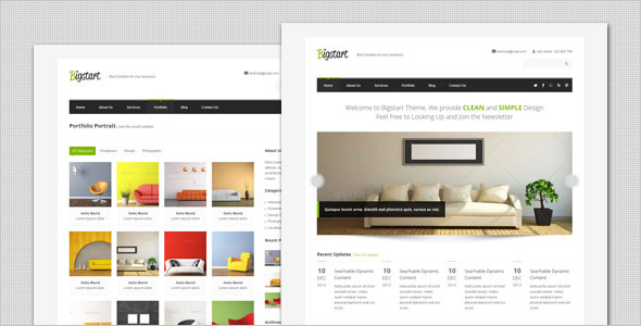 BigStart - Clean and Flexible HTML Template