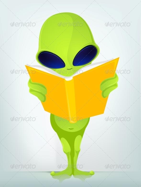 GraphicRiver Funny Alien 3791372