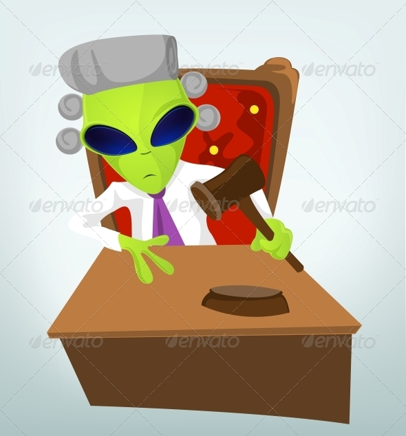 GraphicRiver Funny Alien 3791435