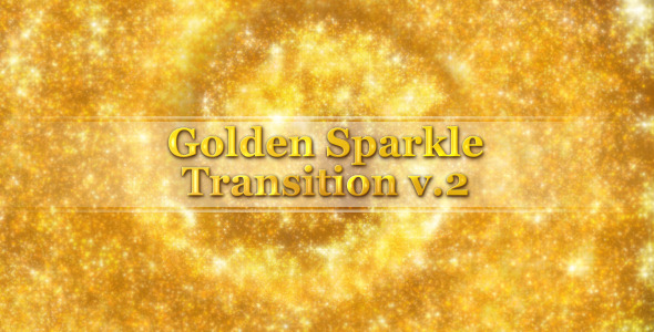 Golden Sparkle Transition V2