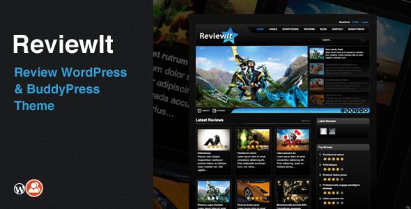 ReviewIt: Review WordPress/BuddyPress Theme - BuddyPress WordPress