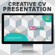 Gstudio Creative CV Presentation Template - GraphicRiver Item for Sale