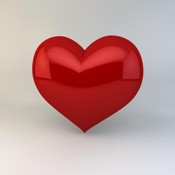 3DOcean Heart 3792509