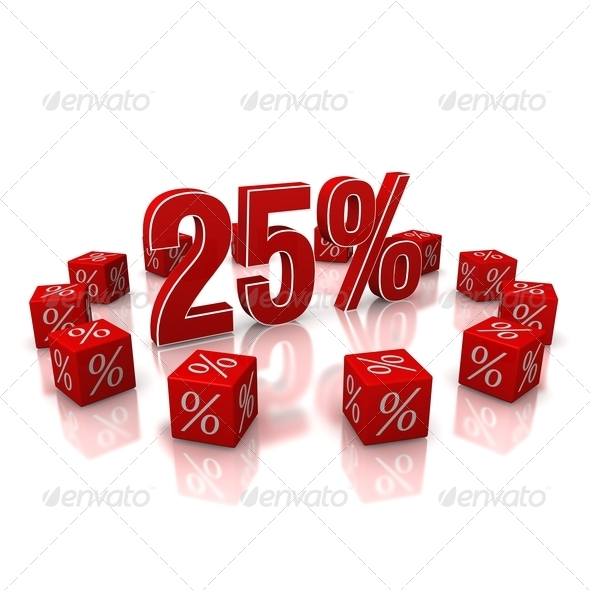 Discount 25 - Stock Photo - Images