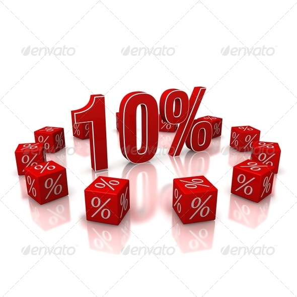 Discount 10 - Stock Photo - Images