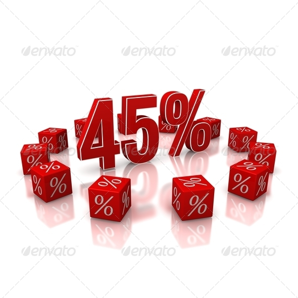 Discount 45 - Stock Photo - Images