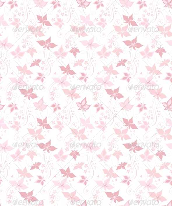 GraphicRiver Pretty floral background 3792661