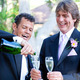 Gay Couple - Champagne Splash - PhotoDune Item for Sale