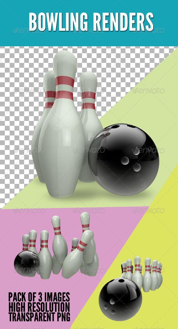 GraphicRiver Bowling Set 3794063