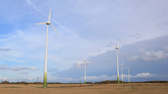 Wind Turbines Real Time