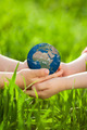 Earth in children`s hands - PhotoDune Item for Sale