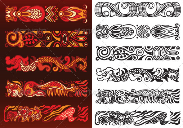 GraphicRiver Decorative Ornament Elements 2705952