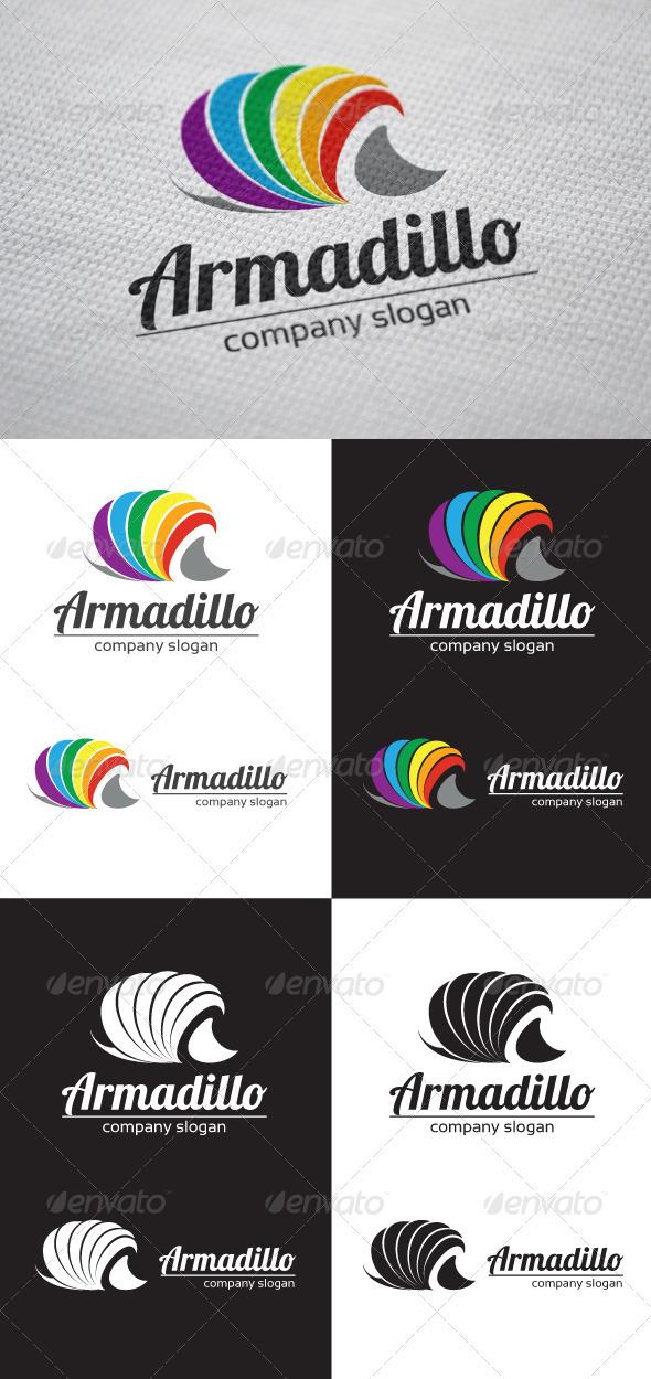 GraphicRiver Armadillo Logo 3725556