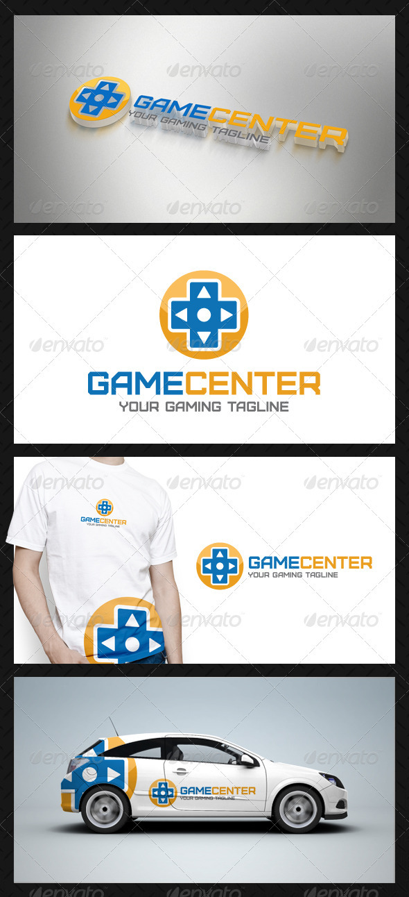 Game Center Logo Template