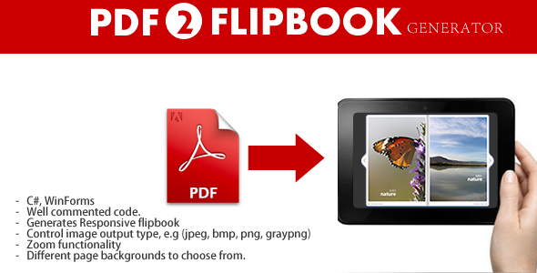 CodeCanyon PDF to HTML Flipbook generator 3791124