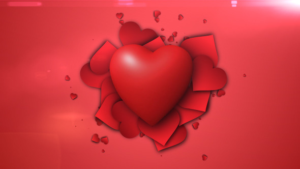 Love Beat Valentine s Day Loop 60Fps HD