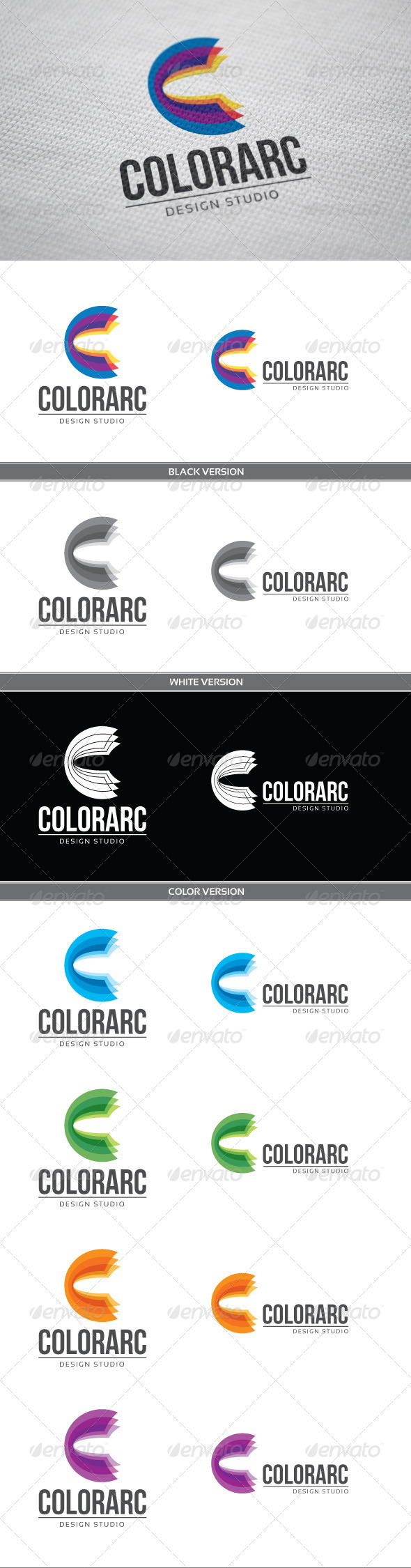 GraphicRiver ColorArc Logo 3796510