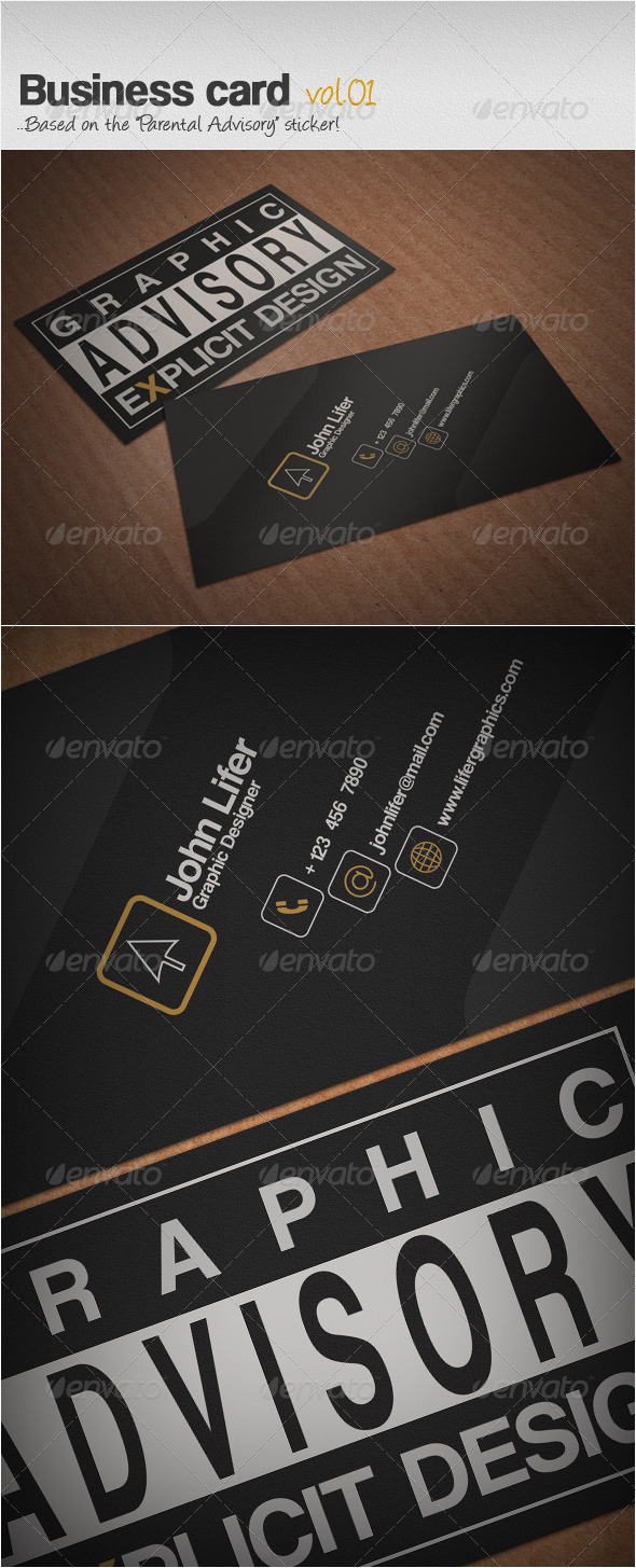 GraphicRiver Business Card Vol.01 3732138