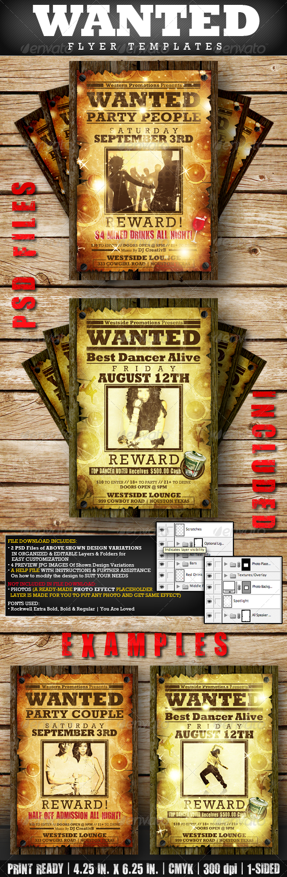 41 Creative Flyers Templates And Designs – Showdown Flyer Template