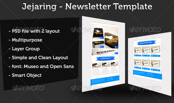 Jejaring E-Newsletter - E-newsletters Web Elements