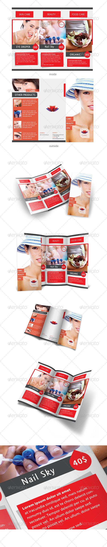 GraphicRiver Care & Spa Trifold Template 409149