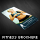 Healthy Fitness Trifold Brochures - GraphicRiver Item for Sale