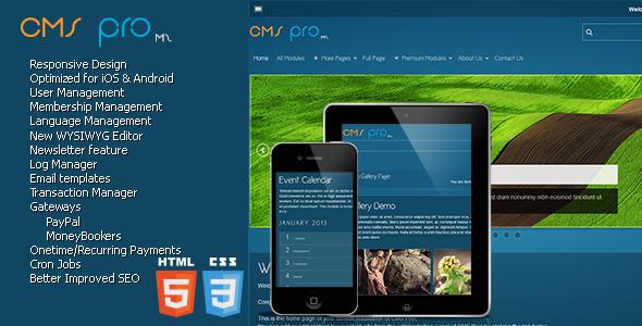 CMS pro m2 v3.65 – Content Management System