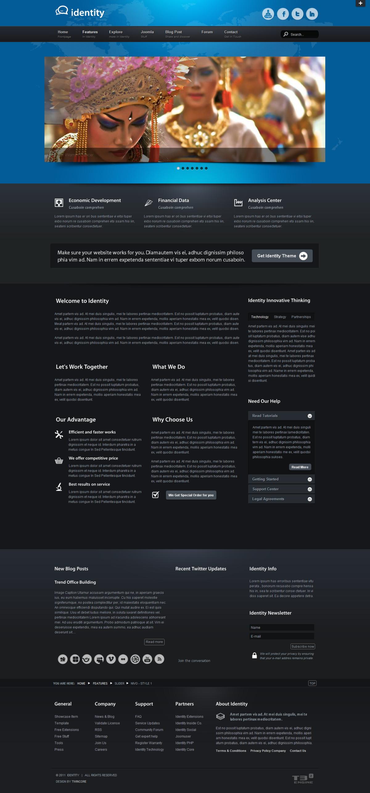 Identity - Premium Joomla Template