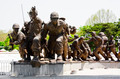 War Monument in front of museum in Seoul - PhotoDune Item for Sale